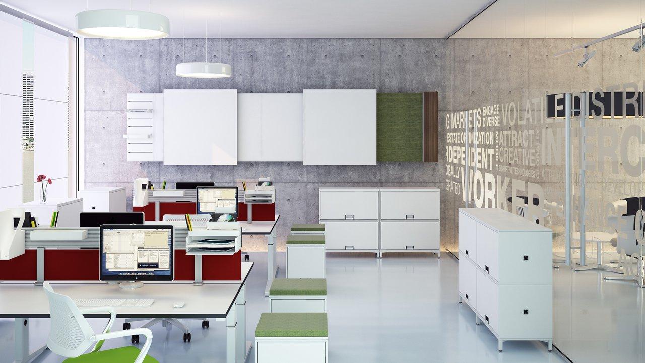 Büromöbel vom Schreiner – individuelle und flexible Ausstattung ...