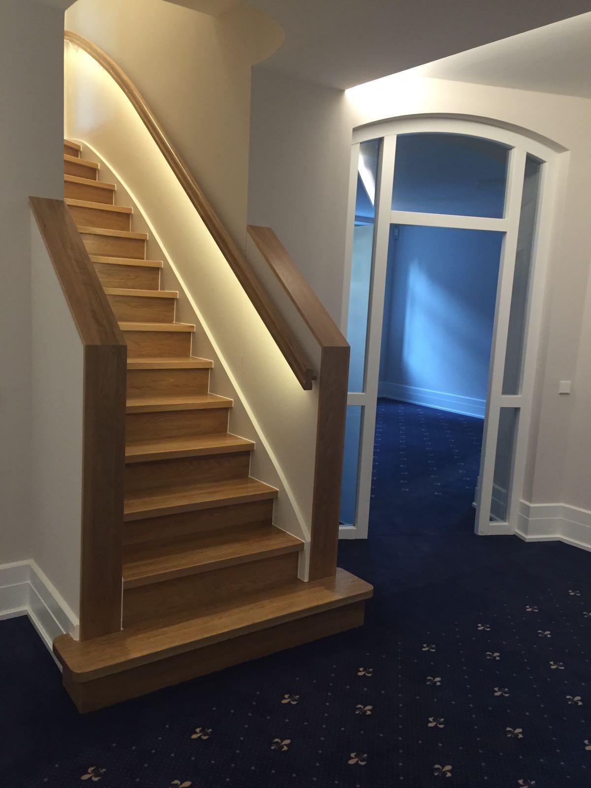 renovierung einer treppe im wiesbadener altbau schreinerei ralf lenz. Black Bedroom Furniture Sets. Home Design Ideas
